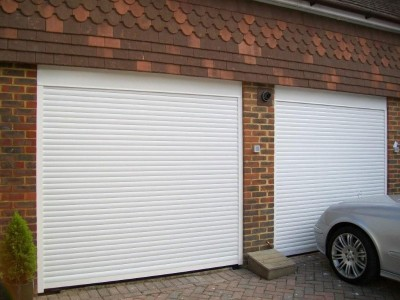 Рольставни гаражные ворота, профиль AG77