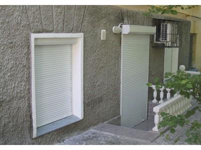Рольставни на Дверь, профиль AR39