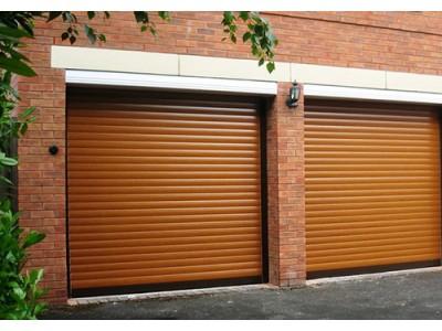 Рольставни гаражные ворота, профиль AR55m