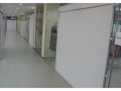 Рольставни торговый павильон, профиль PD55m