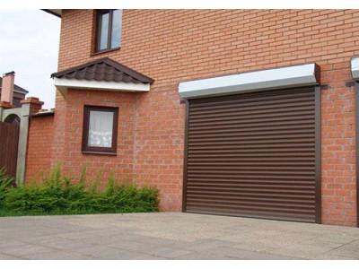 Рольставни гаражные ворота, профиль PD77