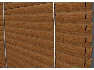 Горизонтальные жалюзи цвет 6015 под дерево