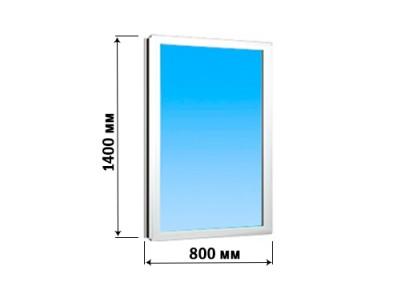 Окно створка 800х1400 (глухое)