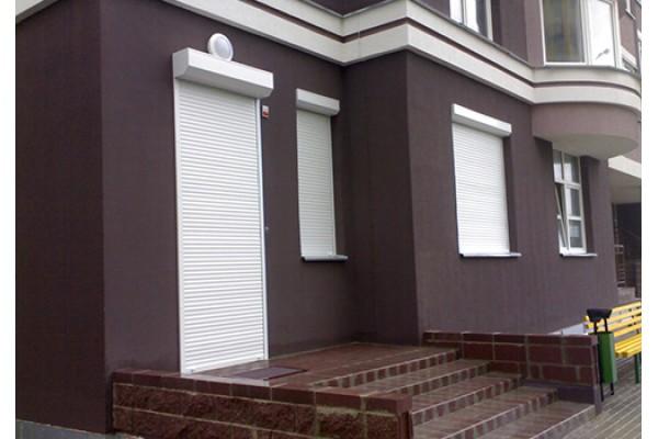 Рольставни на Дверь, профиль AR45