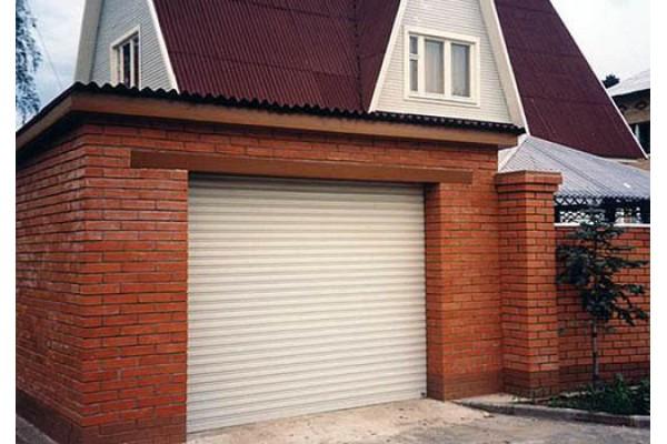 Рольставни гаражные ворота, профиль PD55m